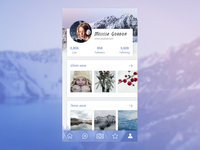 Daily Ui Day 006 User Profile