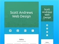 Scott Andrews Portfolio Website