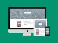 App Sign Up Website