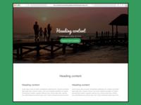 Holiday Web Design Theme