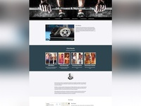 DB Fitness Site Redesign