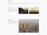Blocs Minimalistic Blog Template