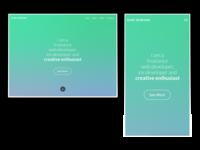 Scott Andrews Web Design Portfolio Redesign