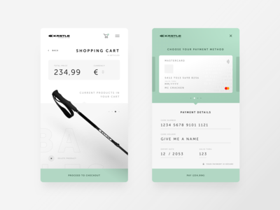 DailyUI Credit Card Checkout #002