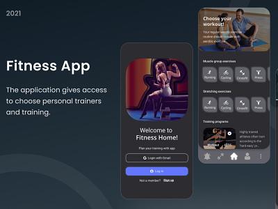 Fitness App ux logo design vector illustration icon graphic design ui 3d branding