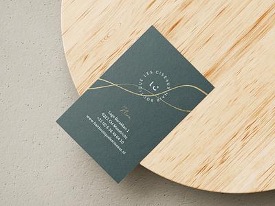 Business card - Les Ciseaux photoshop business card mockup mock up logo brading illustration design branding brand identity brand design brand