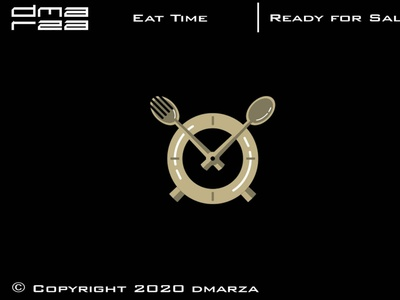 Eat Time Logo symbol vector minimal logodesign logo icon graphic design design branding art