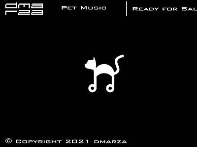 Pet Music Logo symbol vector minimal logodesign logo icon graphic design design branding art