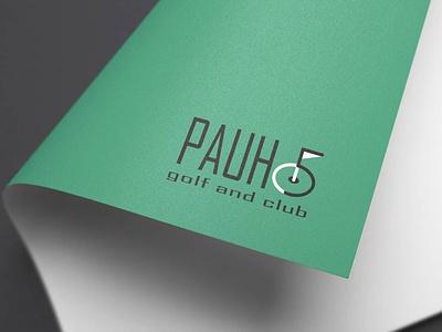 Five Golf Logo symbol vector minimal logodesign logo icon graphic design design branding art