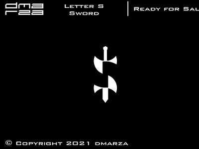 Letter S Sword Logo symbol vector minimal logodesign logo icon graphic design design branding art