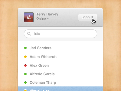 Chat interface mini