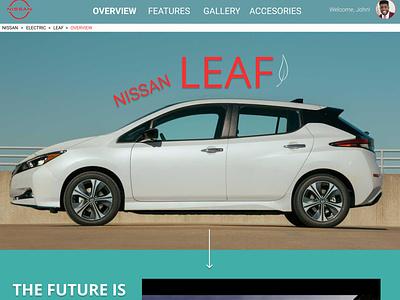 Nissan Leaf Desktop