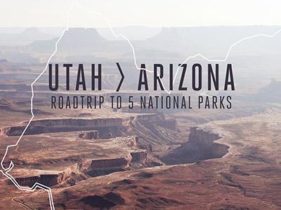 Utah to Arizona