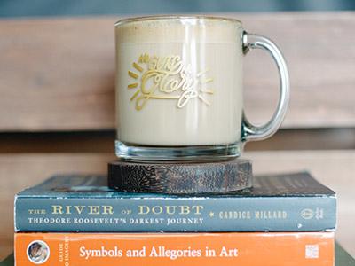 No Guts No Glory type for mug