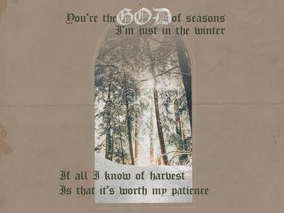 Seasons Lyric