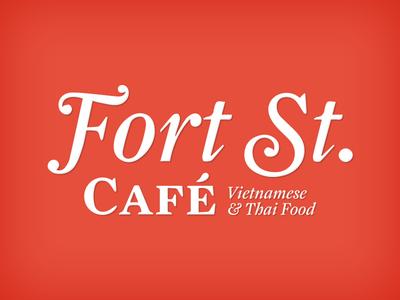 Fort Street Cafe Logo