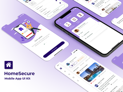 Real Estate App - Find Home and Apartment near You! app ui apartments household rental app rental minimal clean agent finding find house mobile app uiux ui design home flat apartment