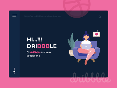 Hello Dribbble - 01 Invite app dribbble invitation uk usa gujarat ahmedabad dribbbleindia umeshganpa ux ui dribbble invite invitations follow new invite giveaway free invite dribbbleinvite invited