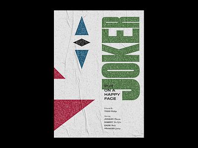 Joker Poster joker oscars illustration design cinema graphic movie