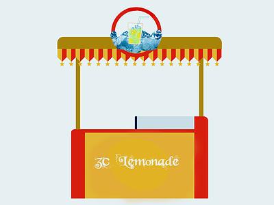 3c Lemonade brand identity branding logo