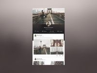 User Profile Social Network