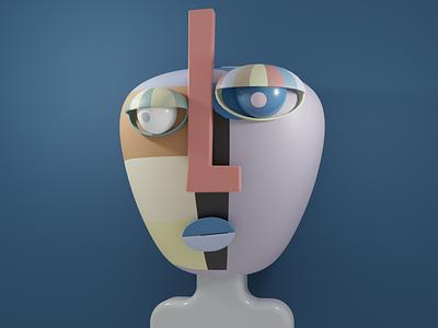 """STARE"" 3D Art · KAUM ux design motion graphics development produt design app illustration 3d illustration logo graphic design animation website web design ui branding cinema 4d blender 3d art art 3d"