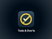 Todo & Don'ts Icon