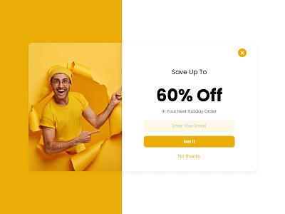 Pop-Up app webdesign dailyui graphic design ui