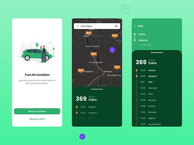 Location Tracker ... appdesign ui graphic design dailyui