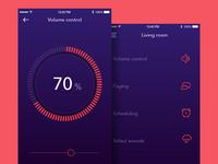 Music control app