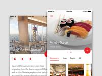 Restaurant review app