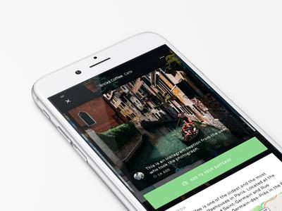 sherpa - detail screen trips user ios app search travel sherpa