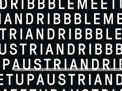 austrian dribbble meetup #15