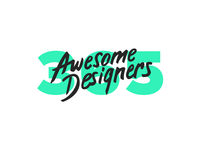 365 awesome designers - 2017 2017 fuckyeah showcase awesome designers 365