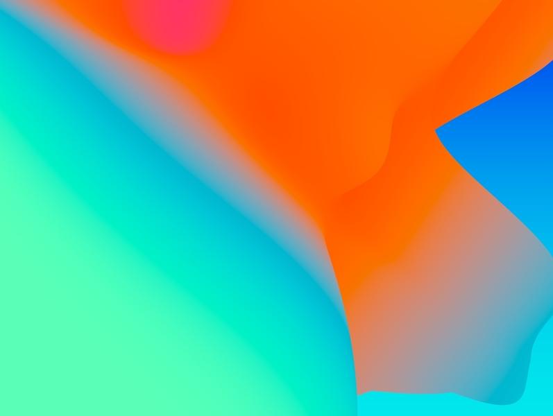 Gradient Wallpapers illustration 3d colorful gradient