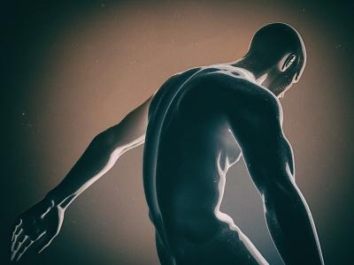 3d Body Experiment cinema poster design 3d