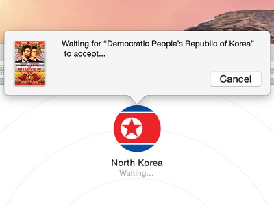 AirDrop 'The Interview' into North Korea