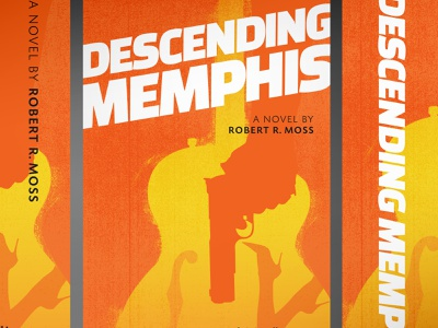 Descending Memphis branding illustrator minimal typography design illustration brand design