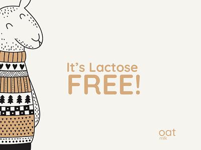 Lactose free oatmilk oat vector milkshake milk emojis cute branding illustration minimal cute art