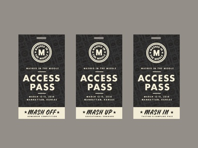 Mashed In Middle Access Passes