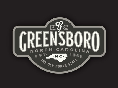 Greensboro Badge