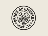 Peace Of Shiitake Badge
