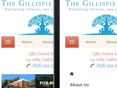 Gillispie Responsive Nav