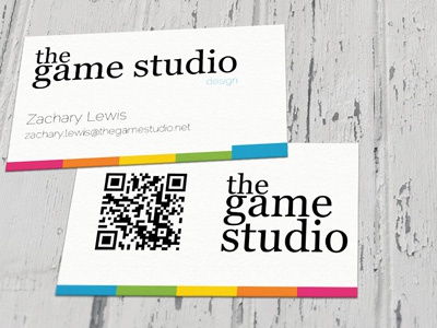 GDC 2012 Business Card