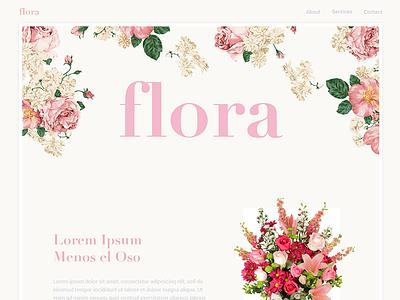Flora light palette flower flora floral
