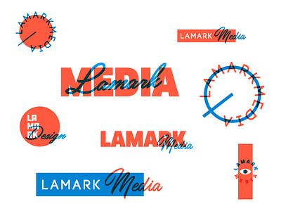 Throw-Gos duotone throw logo media lamark