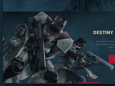 Destiny UI warlock hunter gaming ui destiny