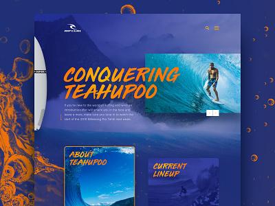 Conquering Teahupoo shaka yellow purple adobe photoshop mask gradient surf