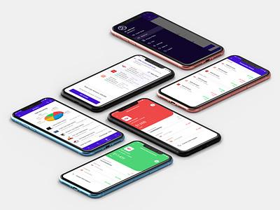 settl bankingapp financial app ux ui design app