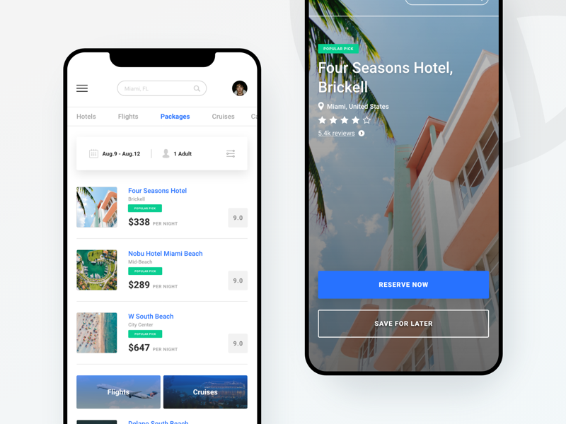 Travel Planner App design mobile adobe xd app ux ui